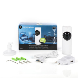 Smartwares Kamera do wnętrz IP, 720P HD
