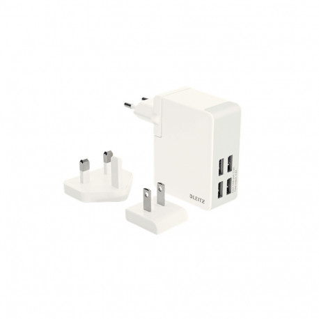 Ładowarka sieciowa Leitz Complete ze złącza USB do gniazdka sieciowego