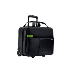 Torba na kółkach Smart na laptopa 15.6'', czarna
