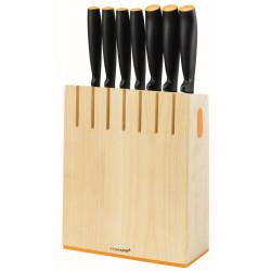 FISKARS zestaw 7 noży w bloku