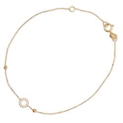 Bransoleta złota W.KRUK (AC16)