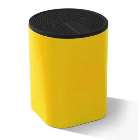Głośnik COLOUR SOUND SPEAKER, 3W kolor żółty