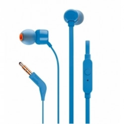 Słuchawki bezprzewodowe JBL T110BT kolor niebieski
