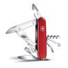 Scyzoryk VICTORINOX Climber, celidor, 91mm, czerwony