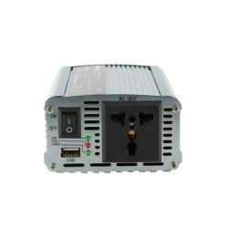 Whitenergy Przetwornica samochodowa 350/700W 12V(DC)- 230V(AC) z portem USB