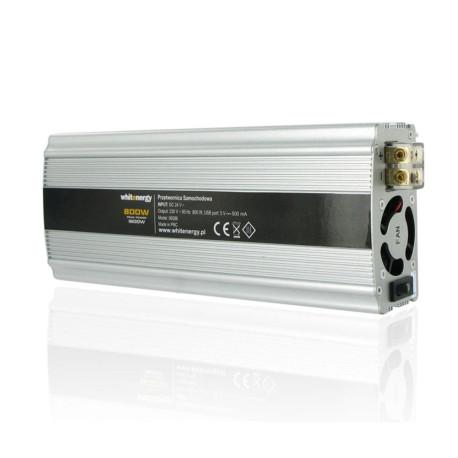 Przetwornica samochodowa 800/1600W 24V(DC)- 230V(AC) z portem USB