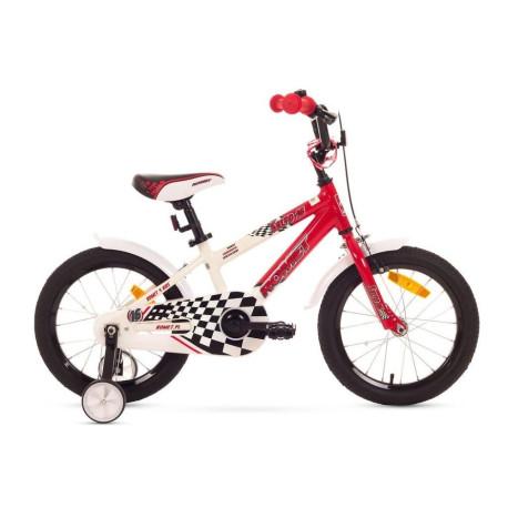 1516010-Rower ROMET SALTO R(P) 16 10 czerwono-biały