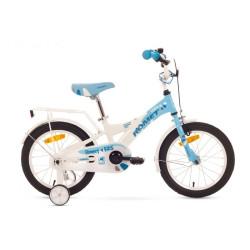 1516007-Rower ROMET DIANA Y(K) 16 10 niebiesko-biały