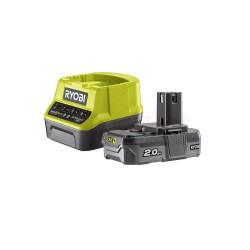 Akumulator 18V 2,0Ah i ładowarka Ryobi RC18120-120