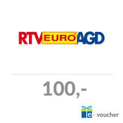 Voucher RTV Euro AGD – o nominale 100 PLN