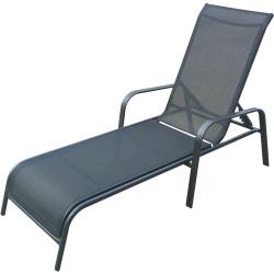 Aluminiowy leżak ogrodowo-wypoczynkowy