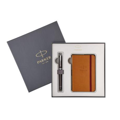 Parker Urban Premium Ebony Fountain Pen + Notebook Set