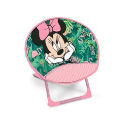 Krzesełko składane Minni różowe