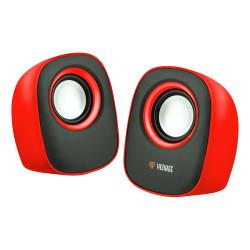 Głośniki USB 2.0 czerwone