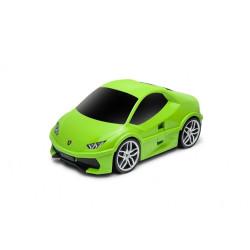 Walizka samochód Lamborghini Huracan - zielony