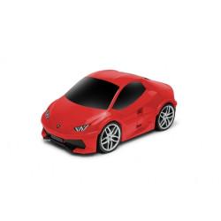 Walizka samochód Lamborghini Huracan - czerwony
