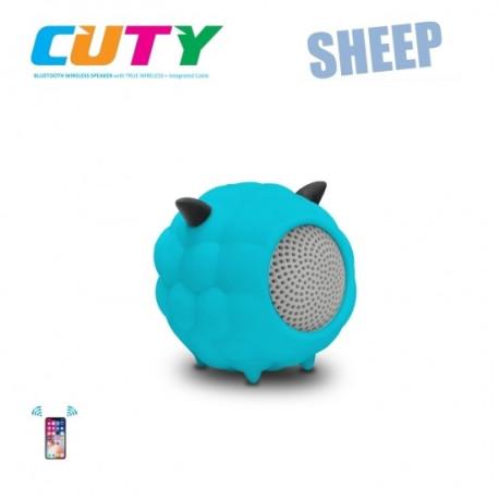 Głośnik w kształcie owieczki-niebieski