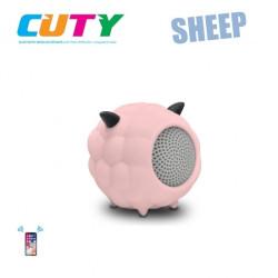 Głośnik w kształcie owieczki - różowy