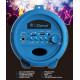 Głośnik przenośny 50W + mikrofon Cyclone 401 - niebieski