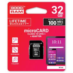 Karta pamięci 32 GB GOODRAM microCARD M1A0/M1AA z UHS-I