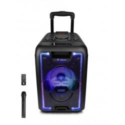 głośnik Bluetooth 200W + pilot bezprzewodowy oraz mikrofon MegaBox 1000