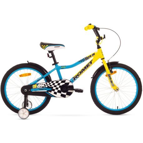 1520016-Rower ROMET SALTO 20 12 zółto-niebieski