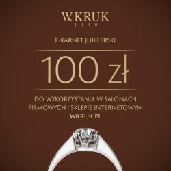 E-karnet W.KRUK 100zł