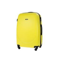 Walizka podróżna twarda duża STL856 żółty