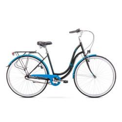 """Rower ANGEL 3 czarno-niebieski 19"""" M"""