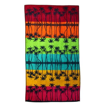 Ręcznik plażowy PALM MIRROR 100x170