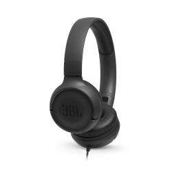 Przewodowe słuchawki nauszne JBL TUNE 500 czarne