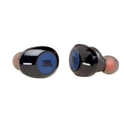 Bezprzewodowe słuchawki dokanałowe JBL TUNE 120TWS Czarno-niebieskie
