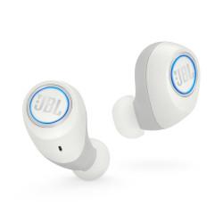 Bezprzewodowe słuchawki dokanałowe JBL FREE Białe