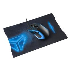 OVERLORD mysz dla graczy + podkładka dla graczy (czerwony)
