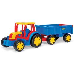 Gigant Traktor z przyczepą WADER