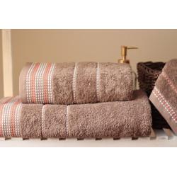 Komplet 3 ręczników migdałowych
