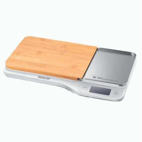 Elektroniczna waga kuchenna z deską SKS 6501WH