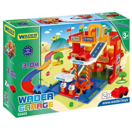 Play Tracks Garage parking 3poziomy WADER