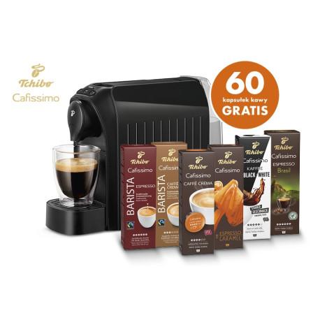 Cafissimo easy czarny +60 kapsułek gratis