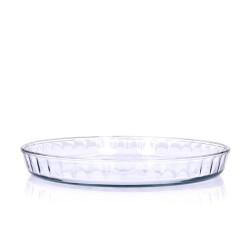 Okrągłe szklane naczynie do pieczenia 26,5 cm DUKA SOREN