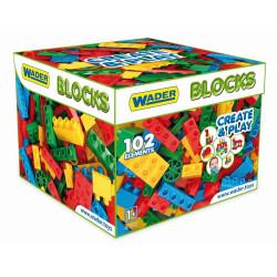 WADER pudełko z klockami 102 elementyi 41292