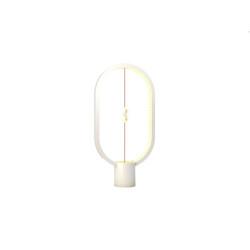 Heng Balance Lamp Ellipse Plastic USB WHITE