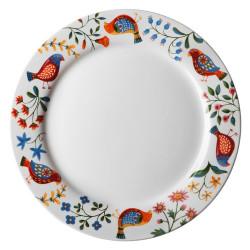 Talerz płytki DUKA PARADISE 27 cm ceramika