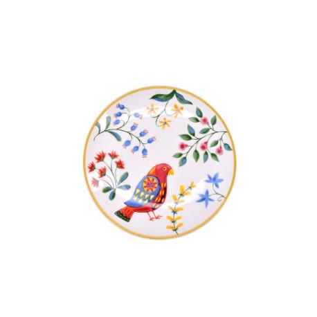 Talerzyk deserowy DUKA PARADISE 15 cm biały ceramika