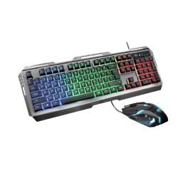 Zestaw gamingowy Trust GXT845 TURAL COMBO US klawiatura + mysz