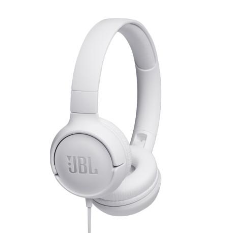 Słuchawki JBL Tune 500 BTWHT Białe nauszne BT
