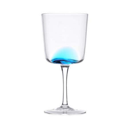 Kieliszek DUKA KROG 35cl niebieski, szkło