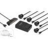 Zestaw samochodowych czujników parkowania / cofania (4 sensory/wyświetlacz LED) Technaxx TX-109